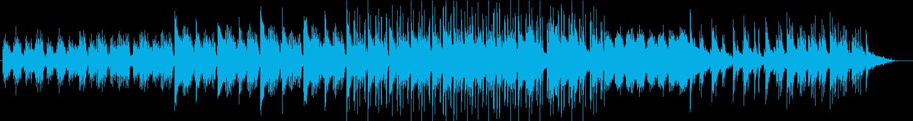 ピアノ 癒しの音楽。木漏れ日。の再生済みの波形