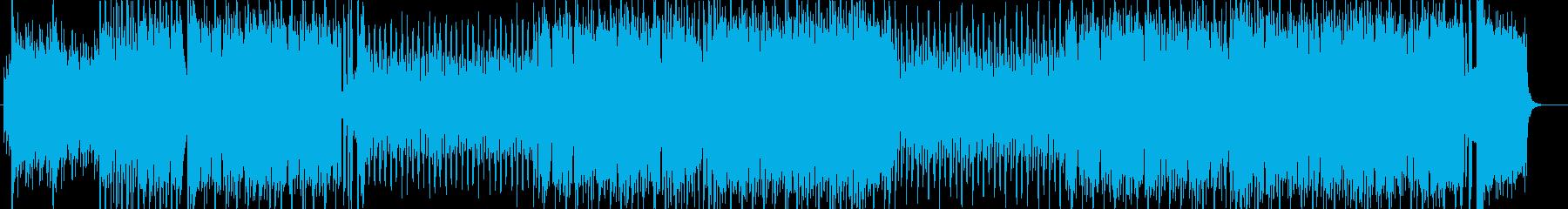 アイドルソング風キラキラポップ4つ打ちaの再生済みの波形
