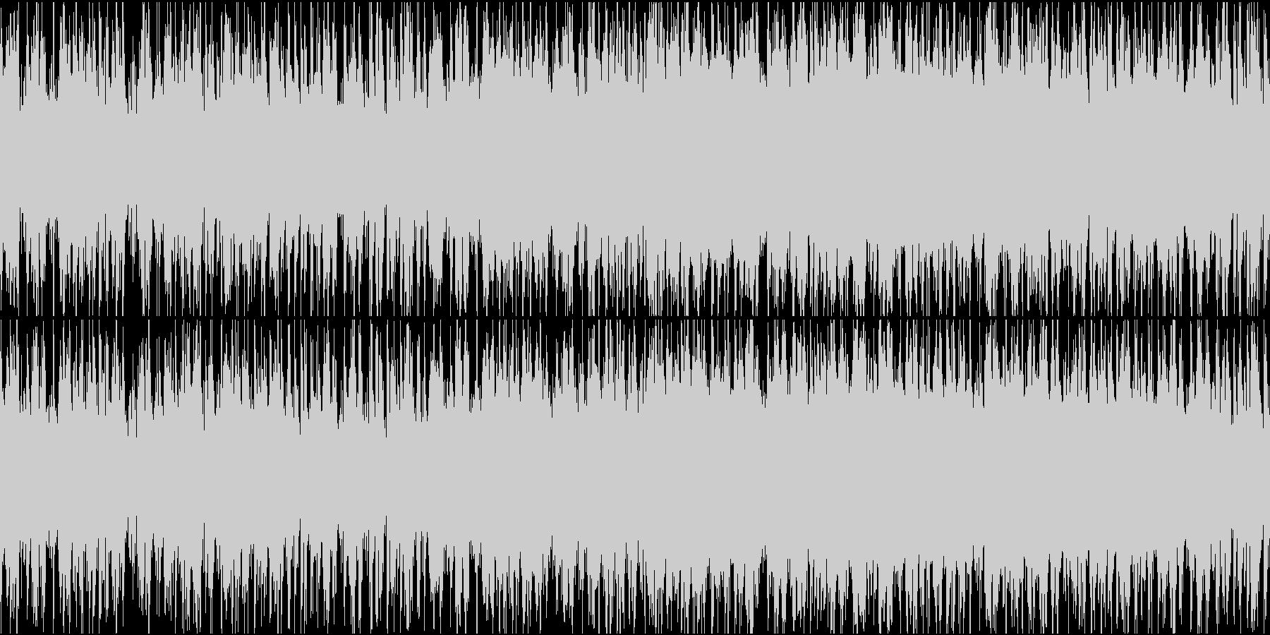 無国籍な民族音楽っぽいBGM ループ仕様の未再生の波形
