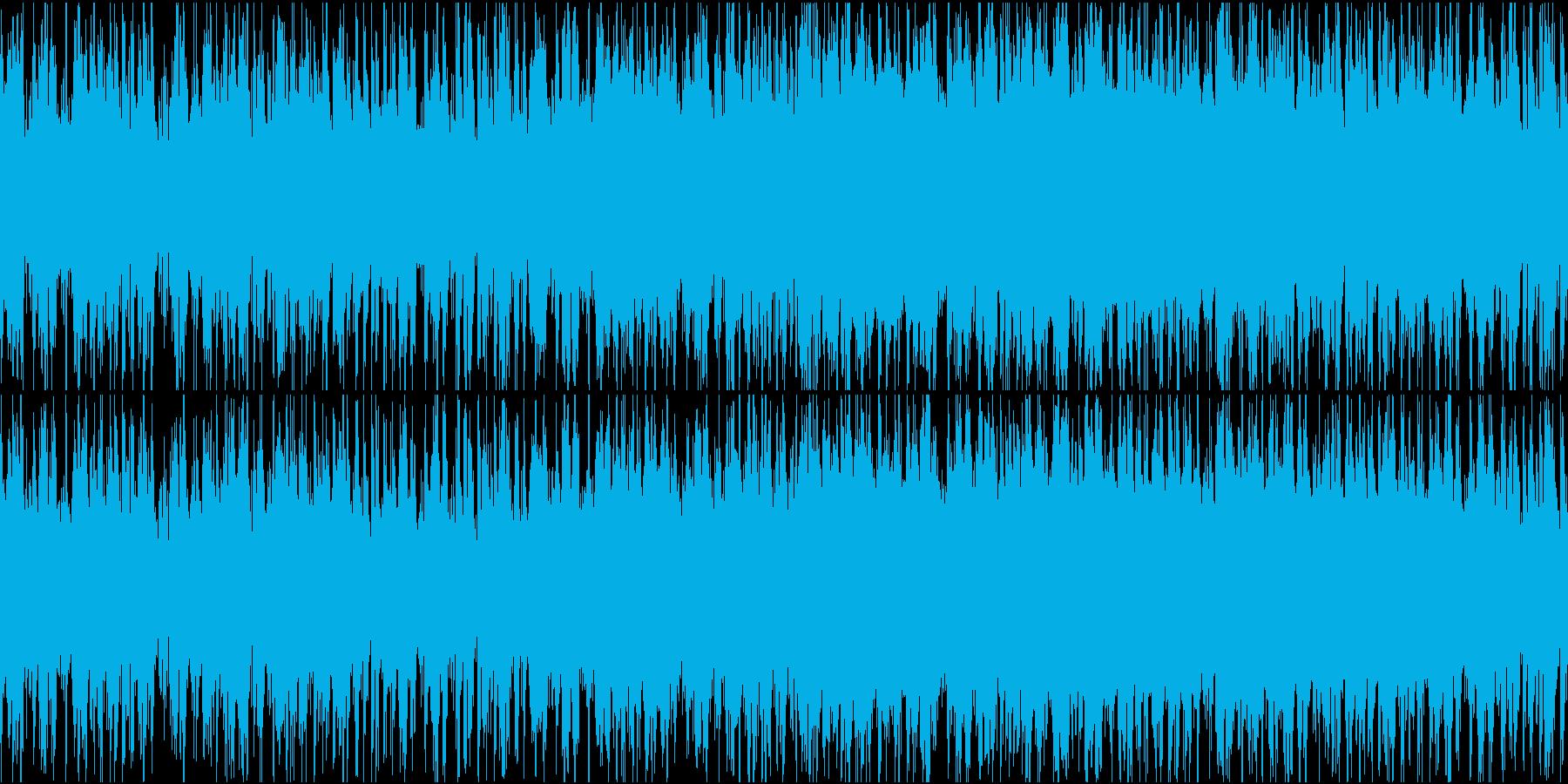 無国籍な民族音楽っぽいBGM ループ仕様の再生済みの波形