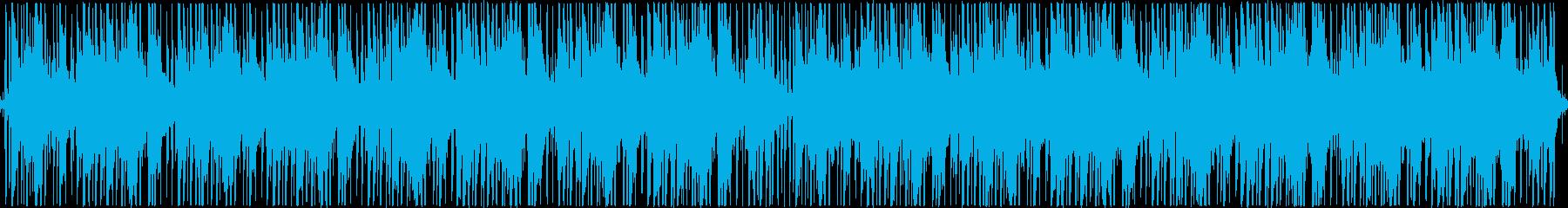爽やかで涼し気な、チル、ループの再生済みの波形