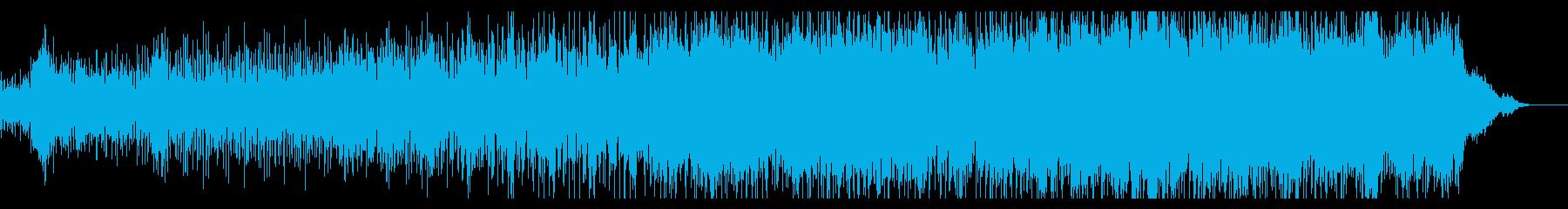 シンプルなシネマティックIDMの再生済みの波形