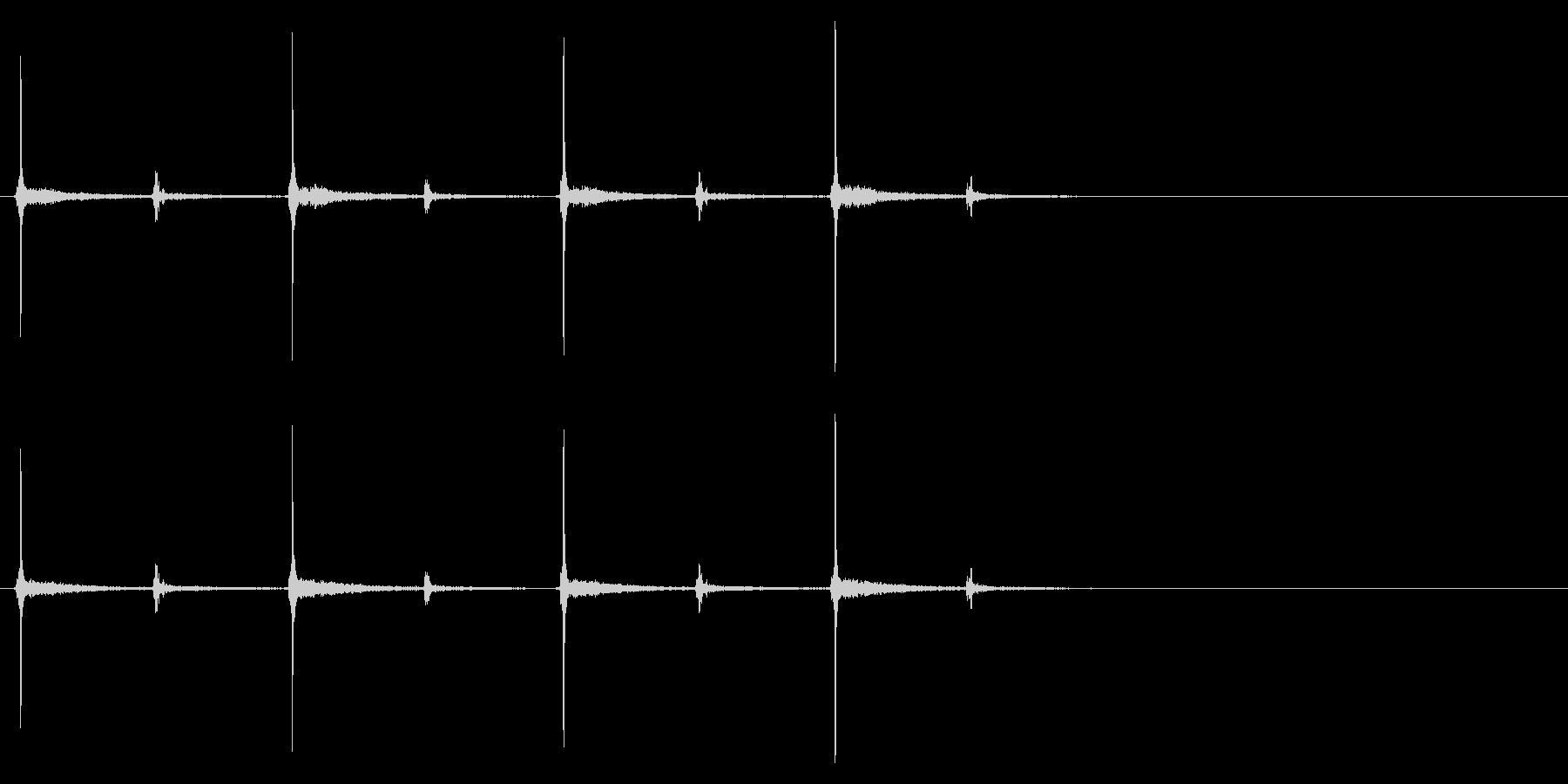 時計 秒針02-7(リバーブ 1)の未再生の波形