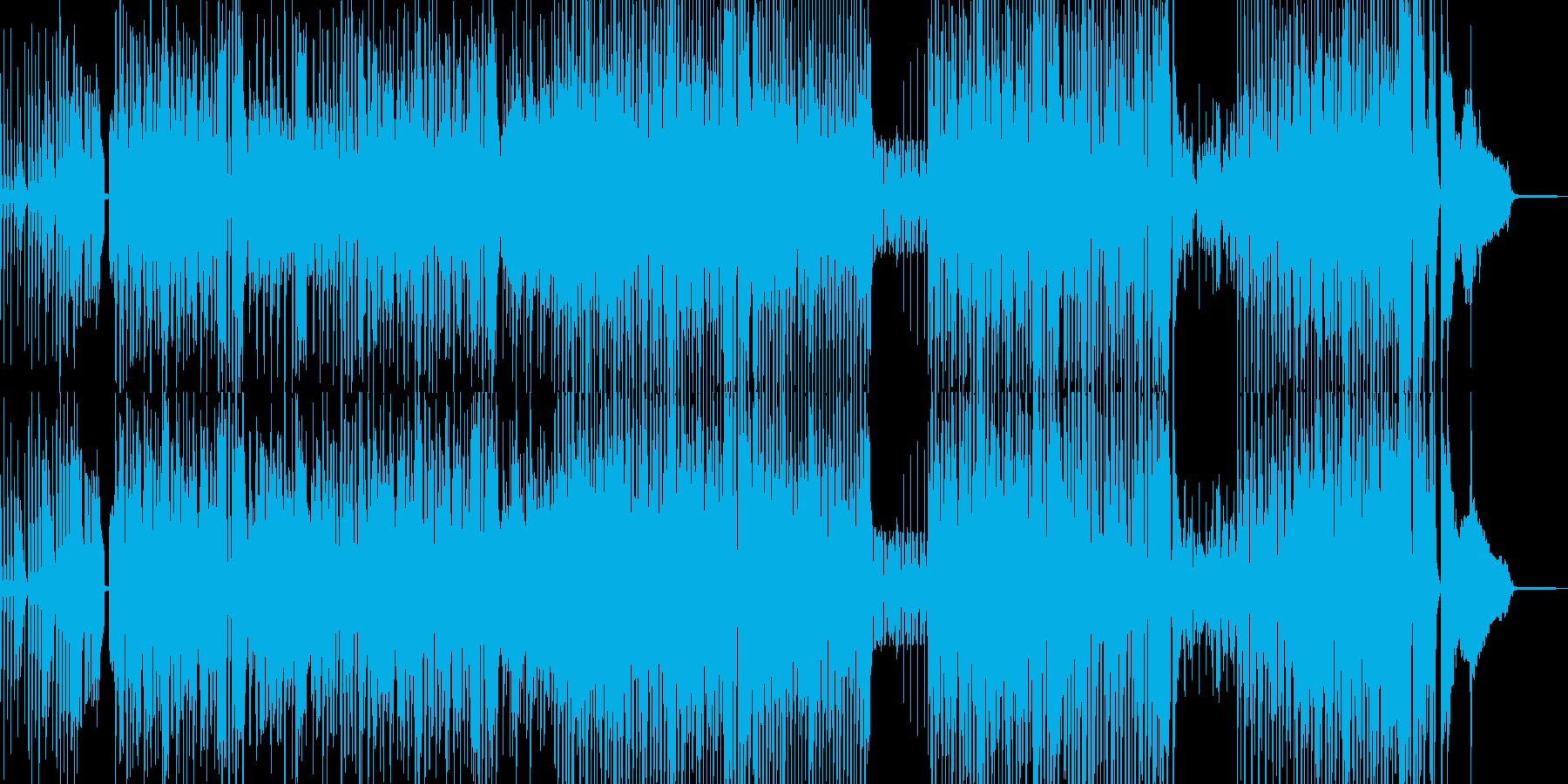 カートゥーン調のピアノ&サ… 後半ドラムの再生済みの波形