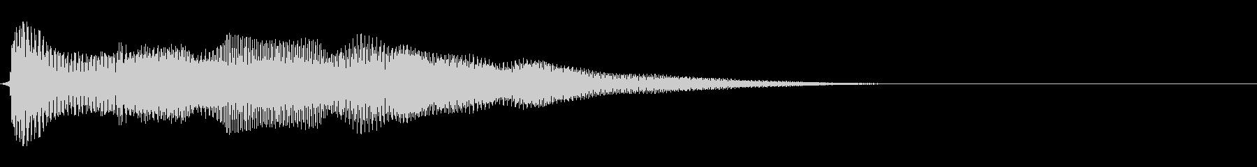 強化されたプラクテッドシンセアクセント6の未再生の波形