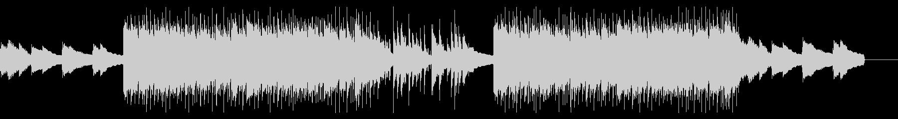 エンディング感のあるメロウなHIPHOPの未再生の波形