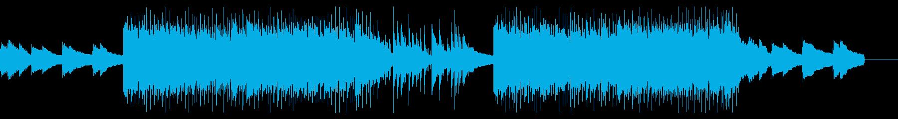 エンディング感のあるメロウなHIPHOPの再生済みの波形
