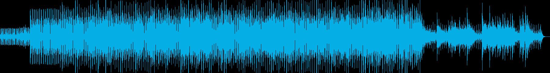 紹介VTR、CM、映像用 ボサノヴァ調の再生済みの波形
