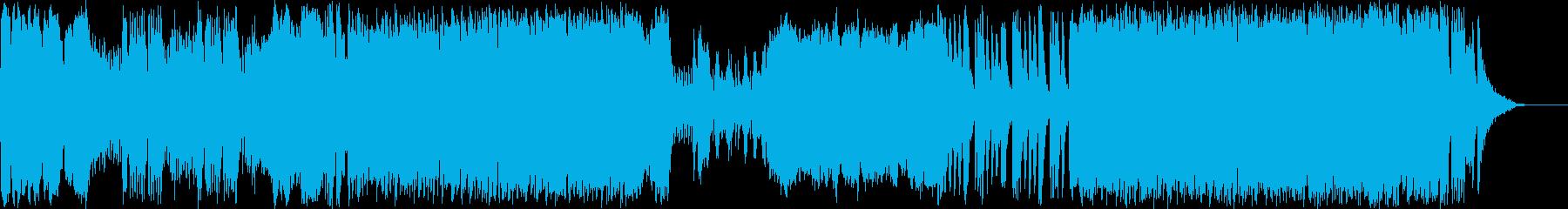 CHINESE DRAGONの再生済みの波形