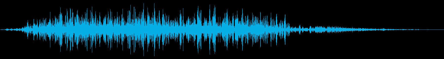 フライング ドラゴン キャラタップ 悲しの再生済みの波形