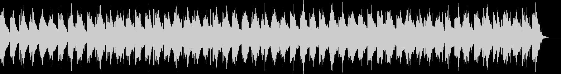 刺激的でエレガントに編成されたピアノと弦の未再生の波形