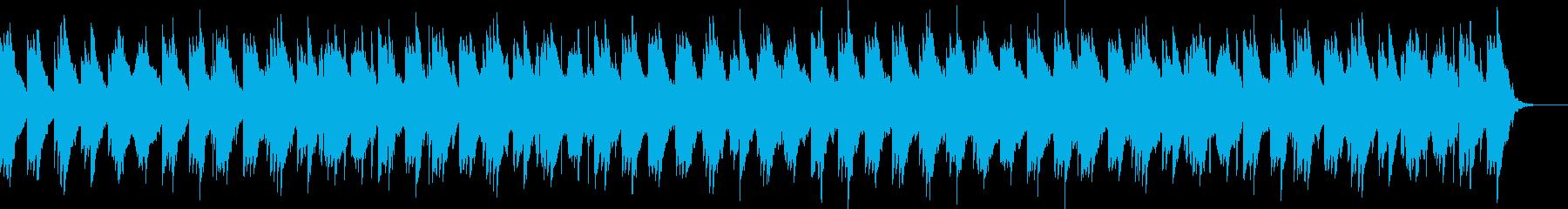刺激的でエレガントに編成されたピアノと弦の再生済みの波形