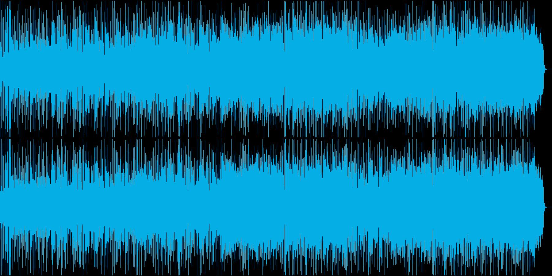 英詞、欧米フェスのオープニングが似合う曲の再生済みの波形
