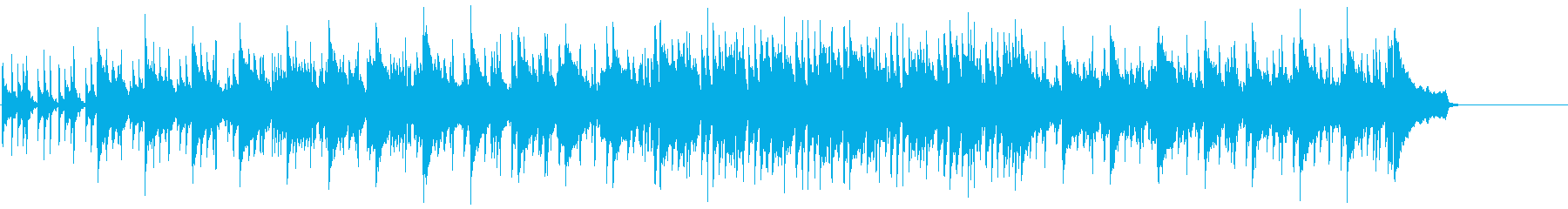 リラックスしたフュージョンのポップスの再生済みの波形