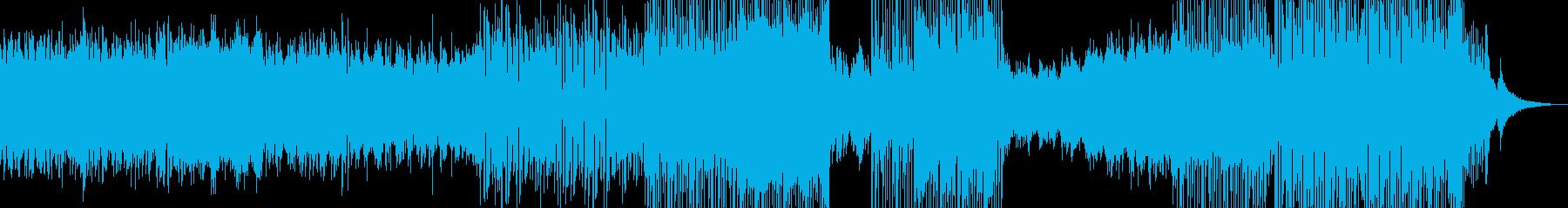癒し系RPG・後半から打楽器のリズム ★の再生済みの波形