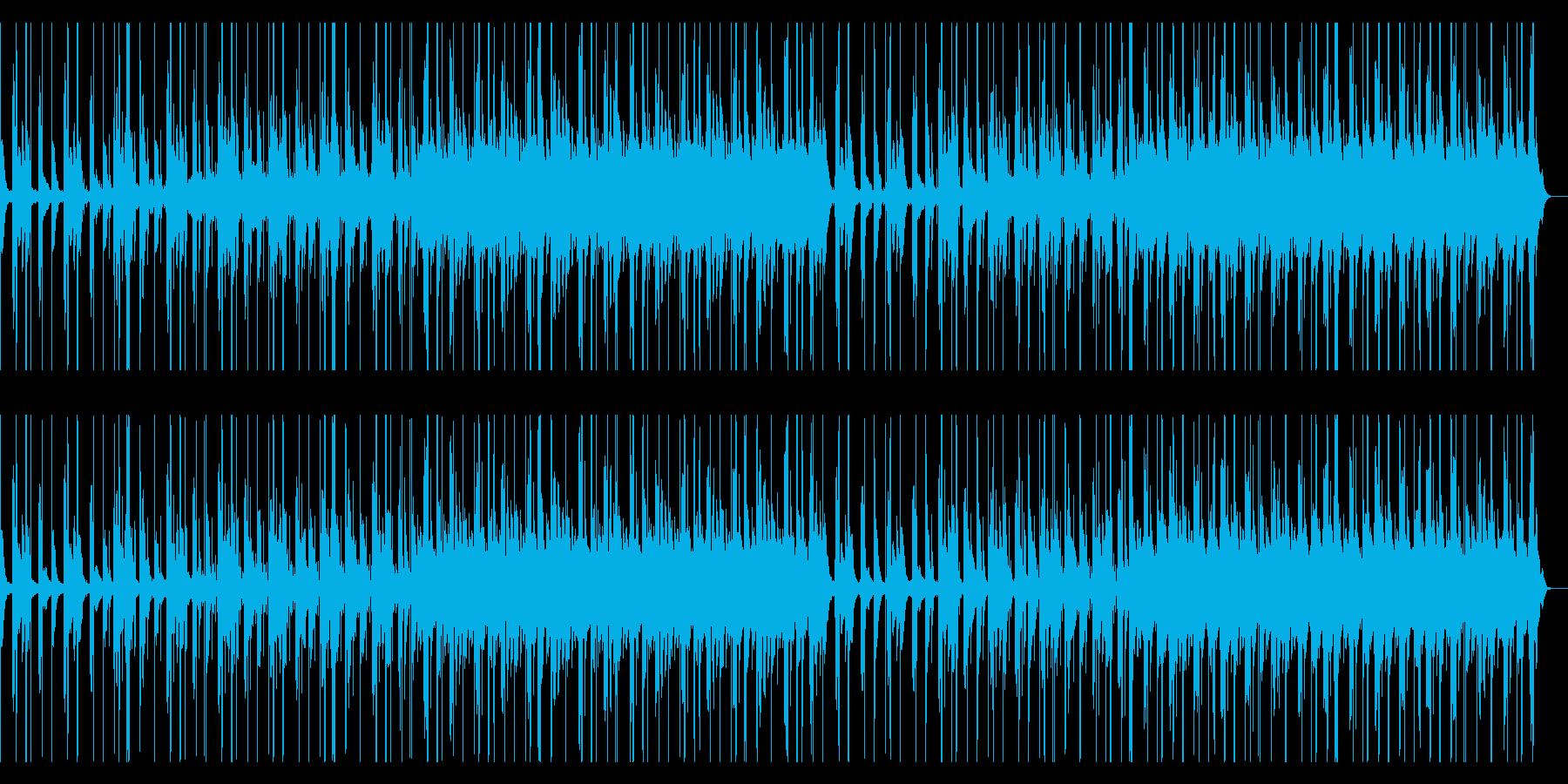 ピアノ・チル ジャズヒップホップの再生済みの波形