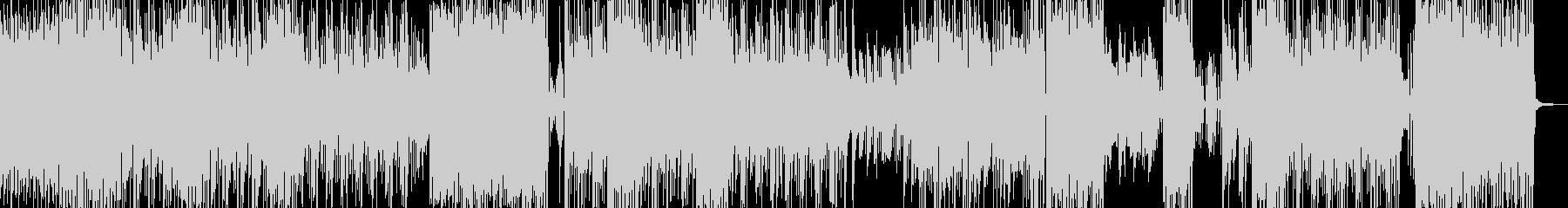 和楽器・おバカな雰囲気溢れるテクノ  Bの未再生の波形