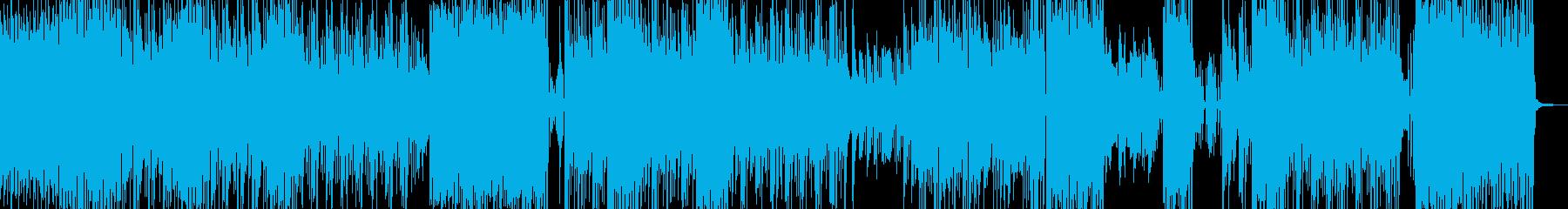 和楽器・おバカな雰囲気溢れるテクノ  Bの再生済みの波形