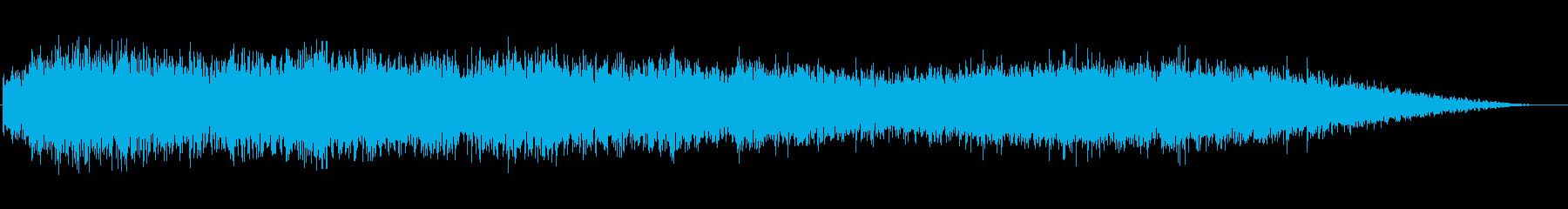 ベッドコールド、ダンクドローンとシマーの再生済みの波形