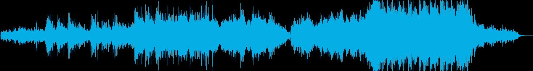 キラキラ感あるゆったりした3拍子の再生済みの波形