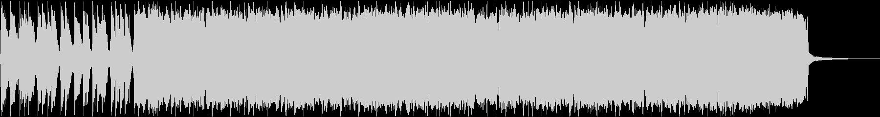 オープニング・イントロ・コミカル・パンクの未再生の波形
