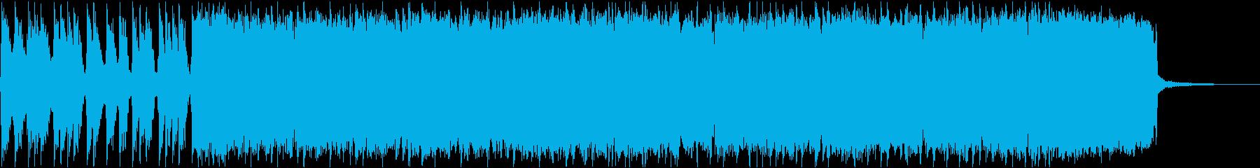 オープニング・イントロ・コミカル・パンクの再生済みの波形