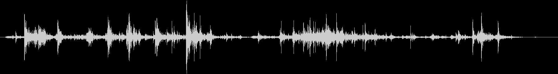 机や棚などをガサゴソ探す効果音 01の未再生の波形