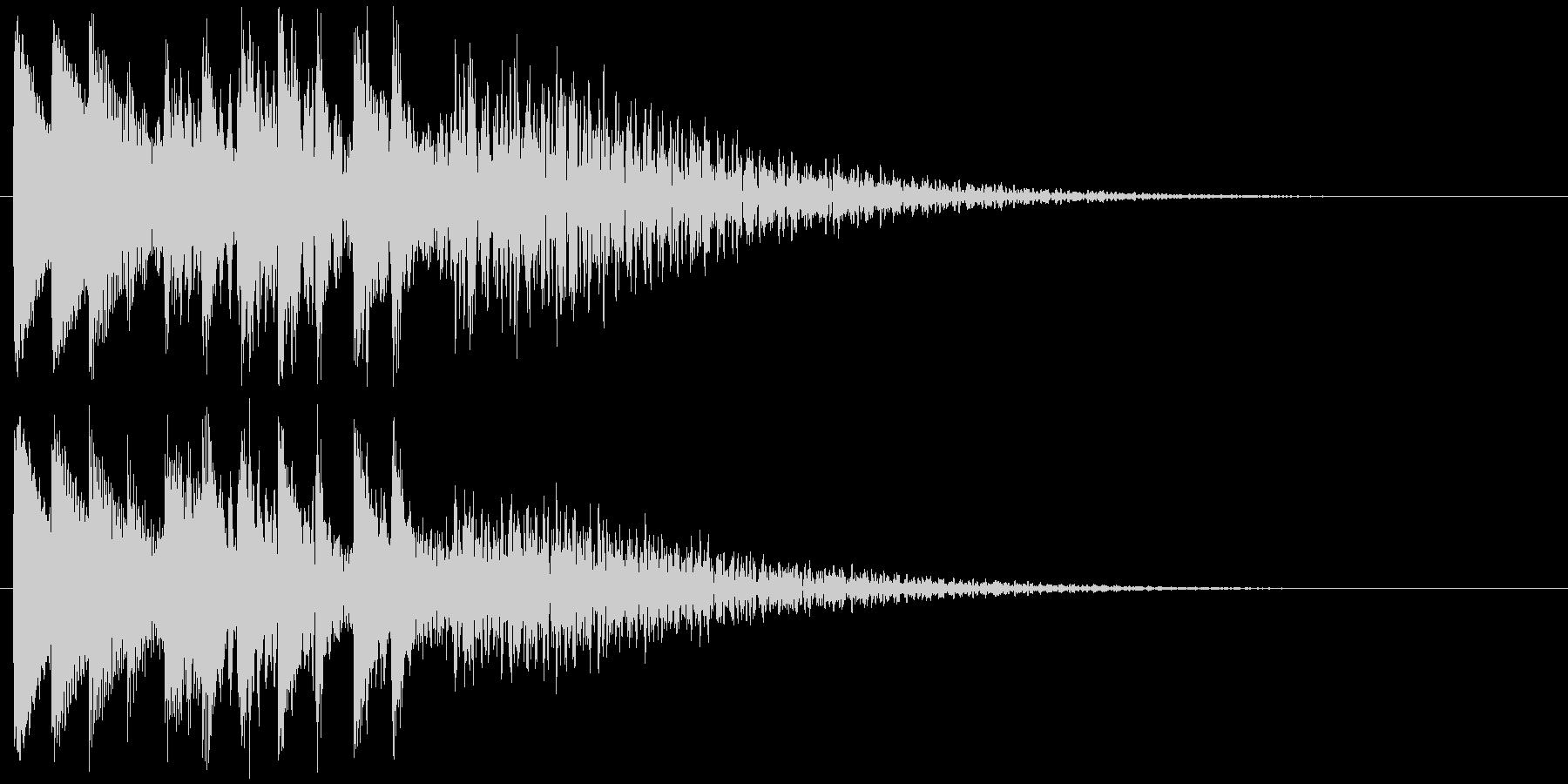 キラキラリン 上昇(鉄琴風)の未再生の波形