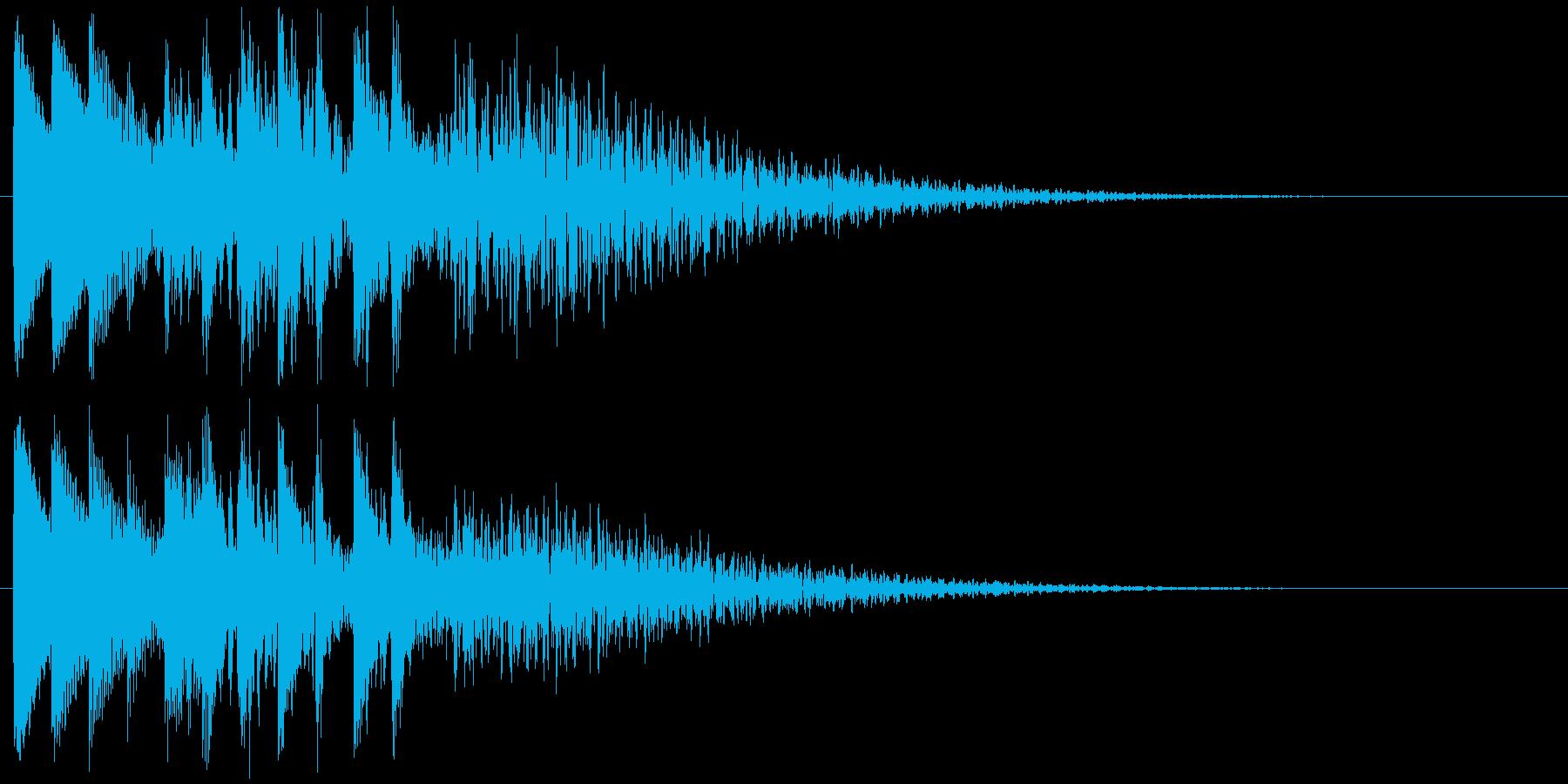 キラキラリン 上昇(鉄琴風)の再生済みの波形