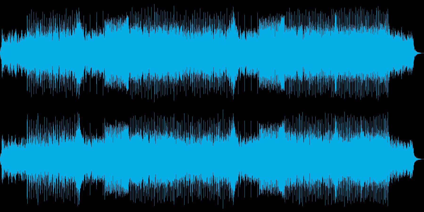 洋楽Pop・R'nBテイストの再生済みの波形
