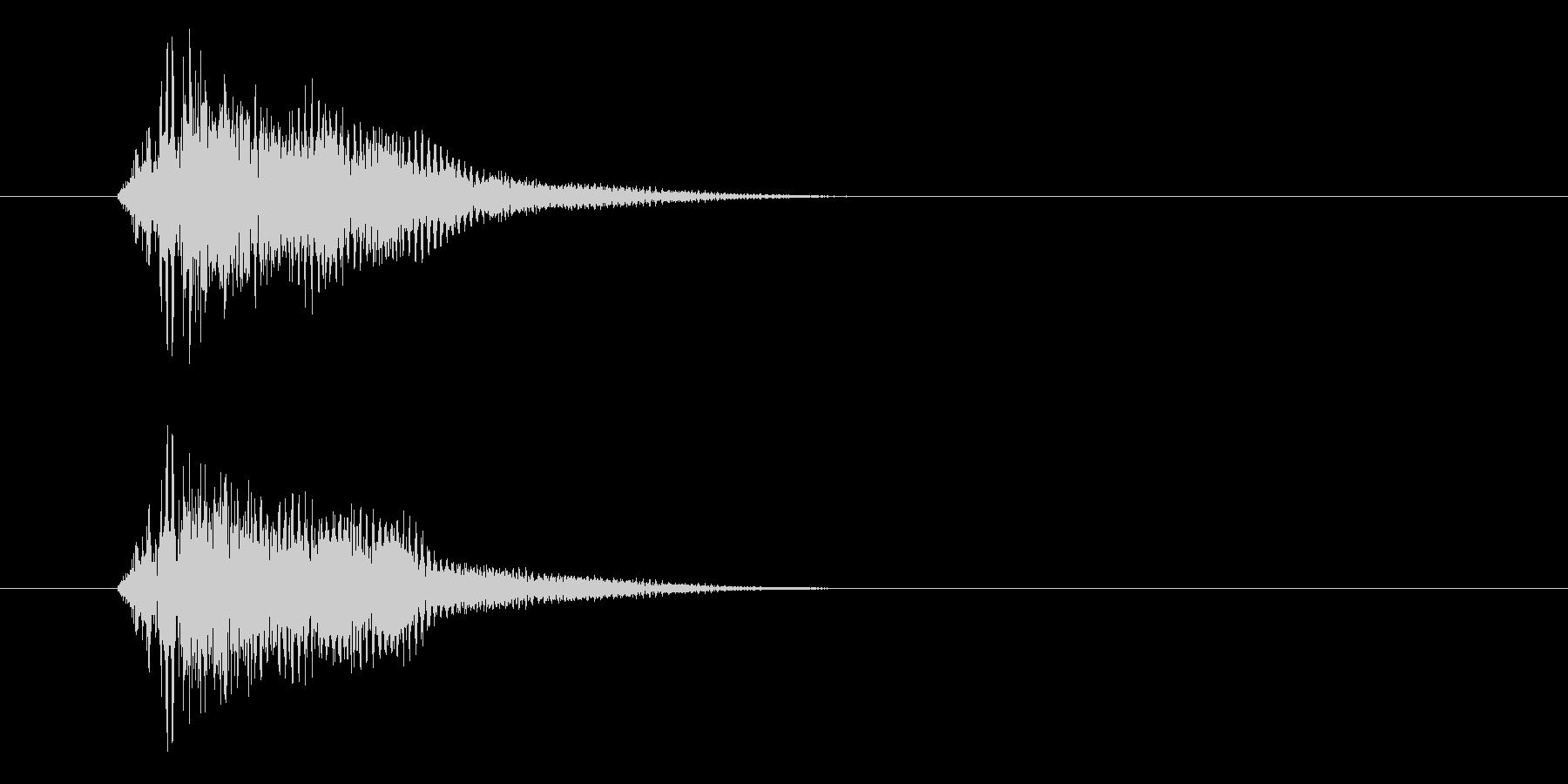 アップ音_m0220の未再生の波形