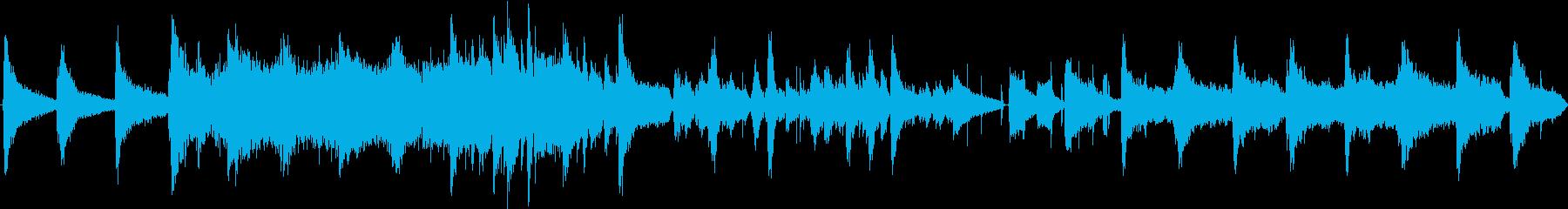 潰れたマカロンの再生済みの波形