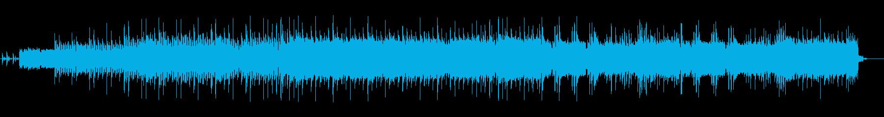 マイケルジャクソンのスリラー風の曲です。の再生済みの波形