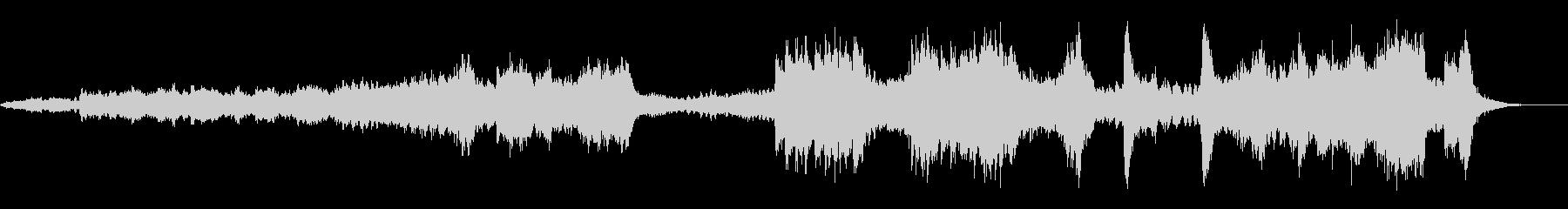 オープニング明るく盛り上がるクラシックMの未再生の波形