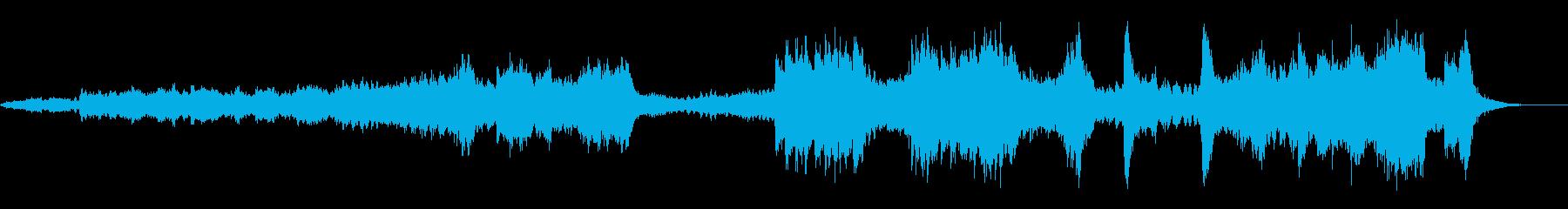 オープニング明るく盛り上がるクラシックMの再生済みの波形