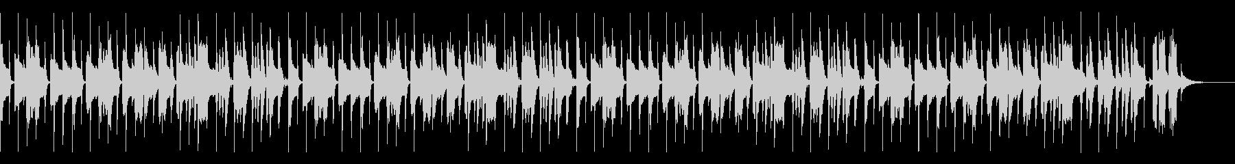 かわいいパズルBGM(スピードアップ無)の未再生の波形