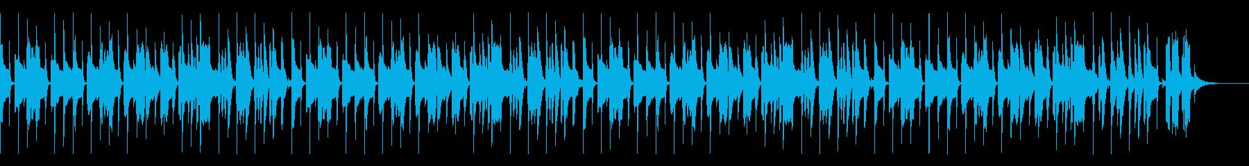 かわいいパズルBGM(スピードアップ無)の再生済みの波形