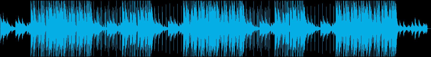 涼しげな日本風チルビートの再生済みの波形