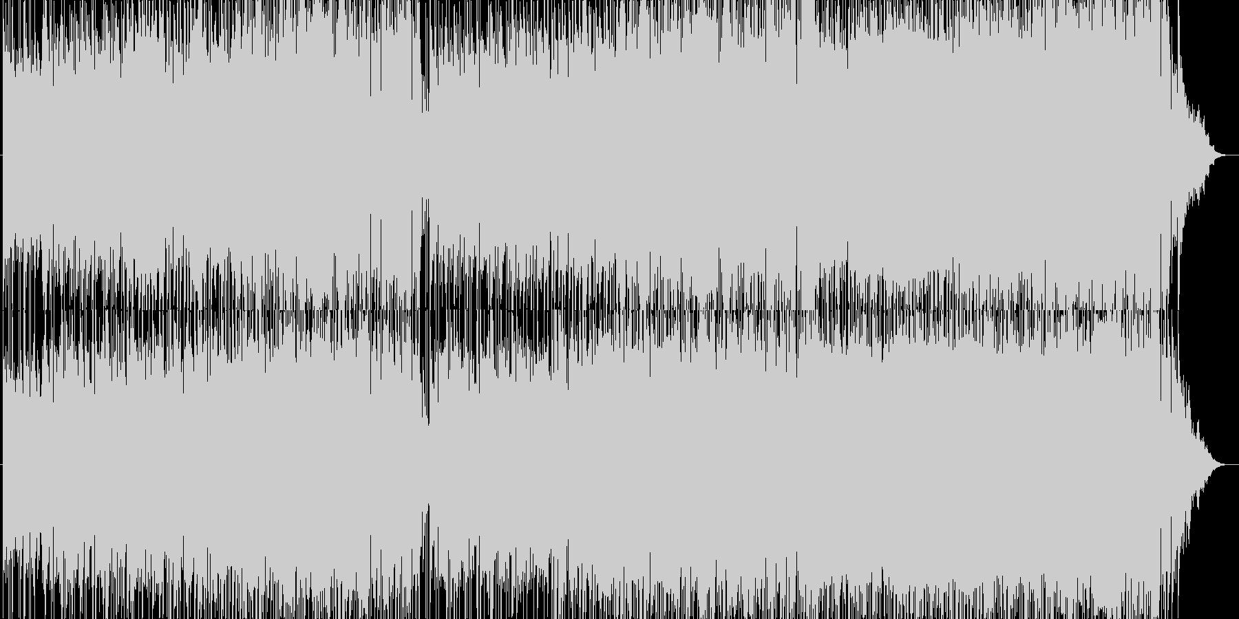 バイオリン、70年代ポップロックの未再生の波形