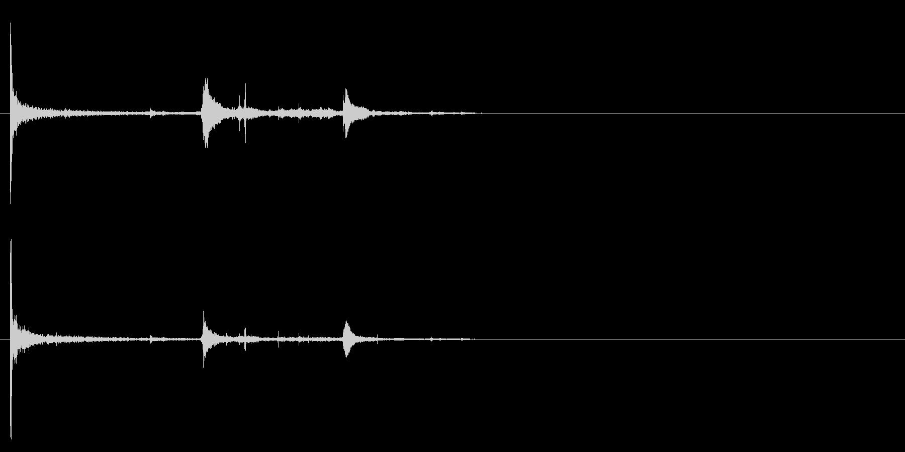 電球の破裂-11の未再生の波形