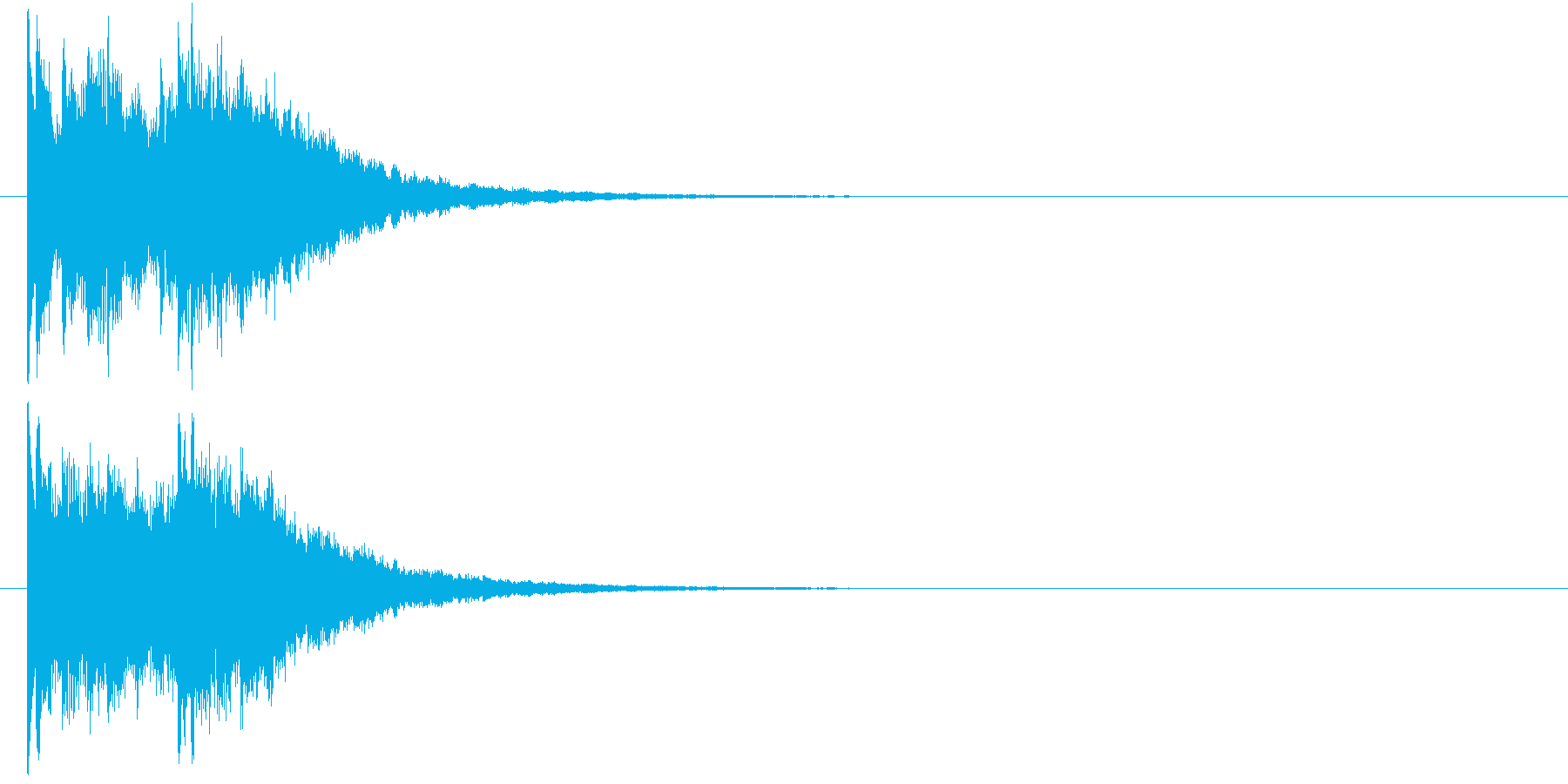 レベルアップ キラキラ 1の再生済みの波形