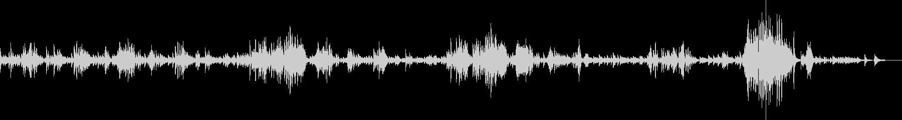 ショパン ノクターン Op9-No2の未再生の波形