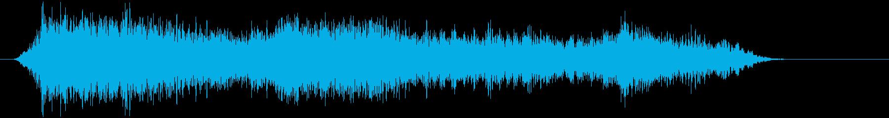 群集 バトルクライ02の再生済みの波形
