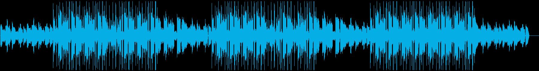 落ち着いらLo-Fiチルビートの再生済みの波形