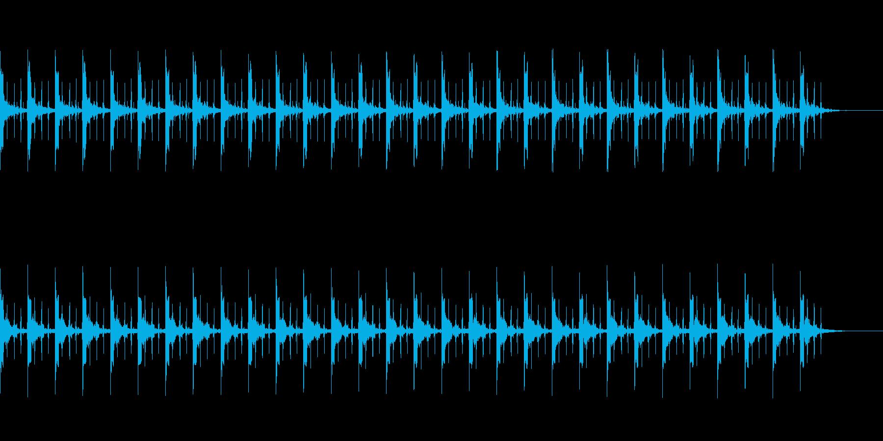 ピッピ+秒針 カウント30秒の再生済みの波形