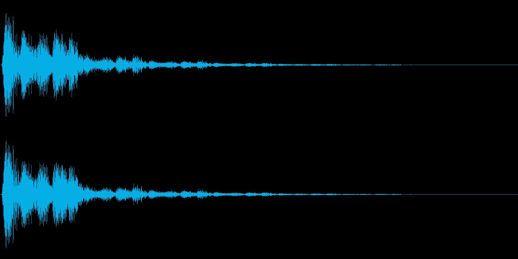 決定・空気感・キャッチー・印象的17の再生済みの波形
