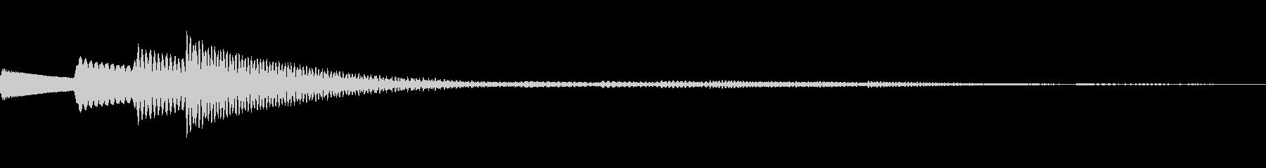 ティロリン♪(決定系ボタン音)の未再生の波形