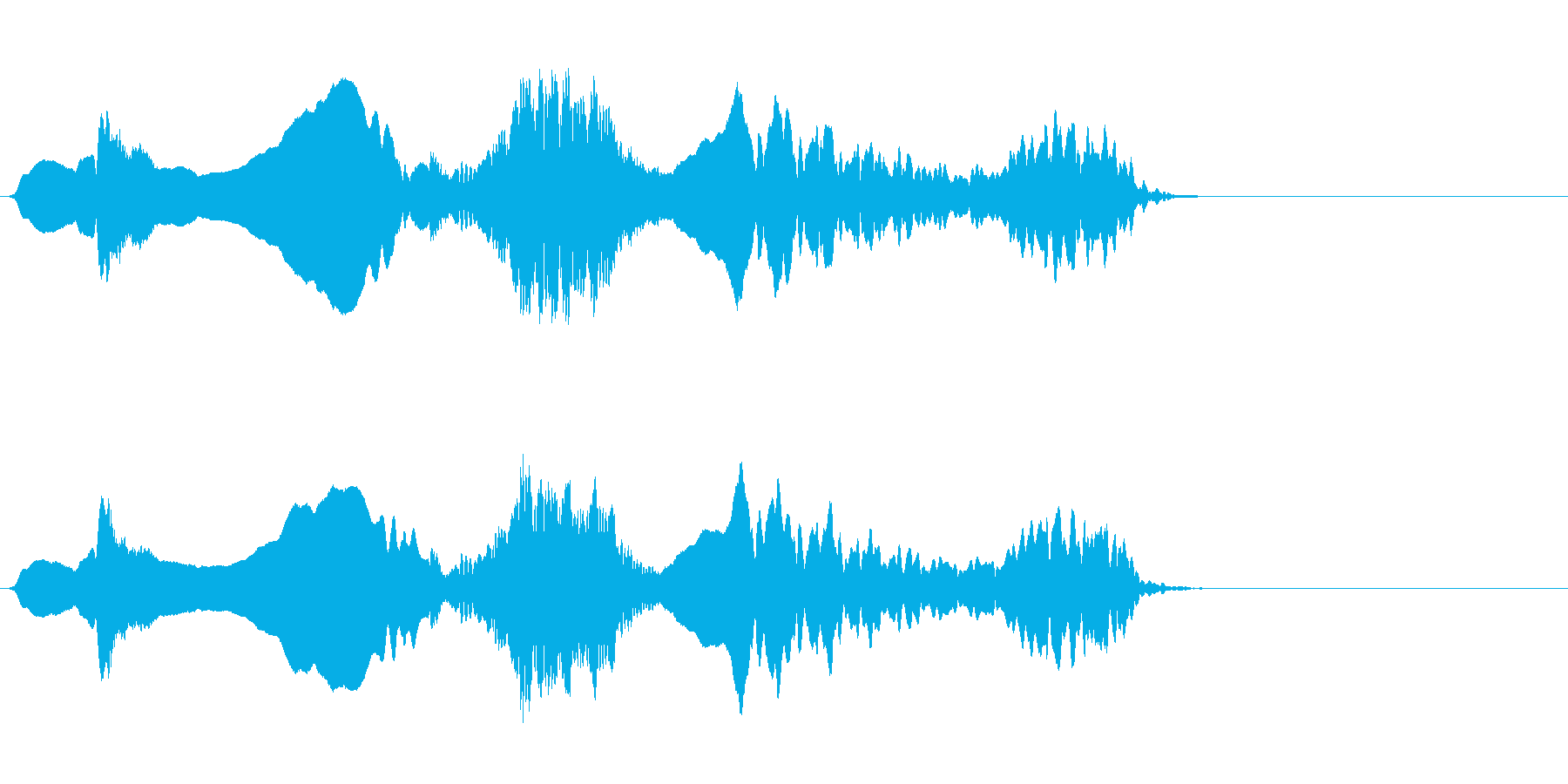 尺八 生演奏 古典風#3の再生済みの波形