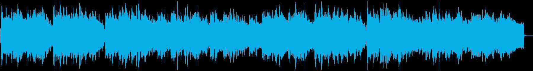 ほのぼのと癒される童謡「ふじの山」の再生済みの波形