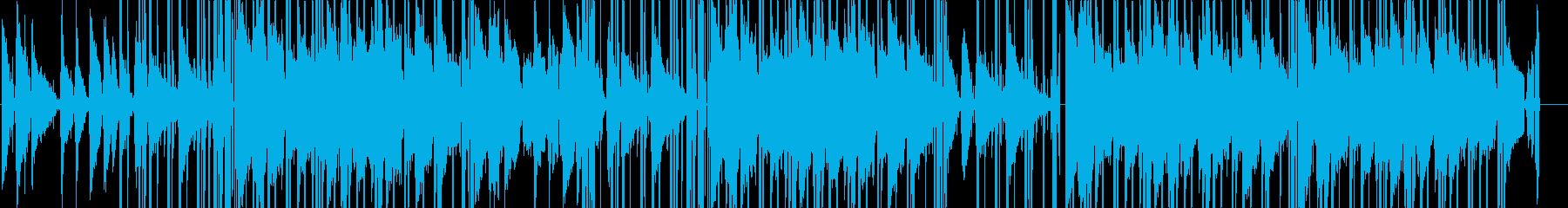 くつろげるLO-FI HIPHOPの再生済みの波形